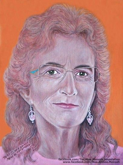 JENNY JOHNSON (portrait by NAA AHINEE MENSAH)